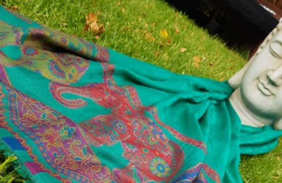 What Are Pashmina Wraps Made From?