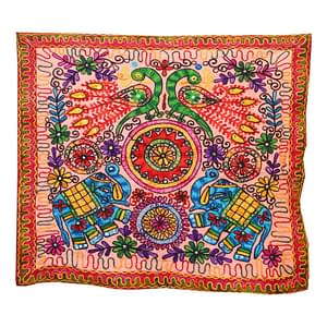 Indian Embroidered Cotton Hand Crafted