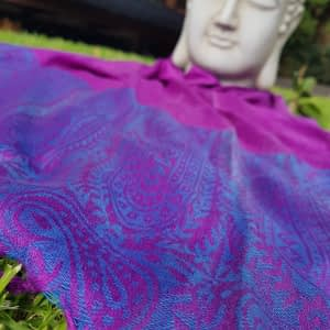 These deluxe patterned pashminas are equally silky and soft. Designed with the ultimate versatility in mind. Lightweight yet incredibly warm. Dress them up for formal occasions or pair with jeans. A luxurious fashion accessory.